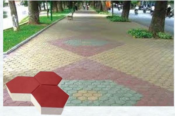 Gạch vỉa hè Hồ Chí Minh